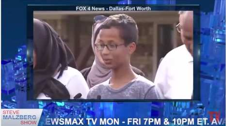 Clock Boy was passive-agressive with police and not helpful.