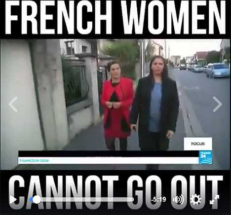 French Women Cannot Go Out
