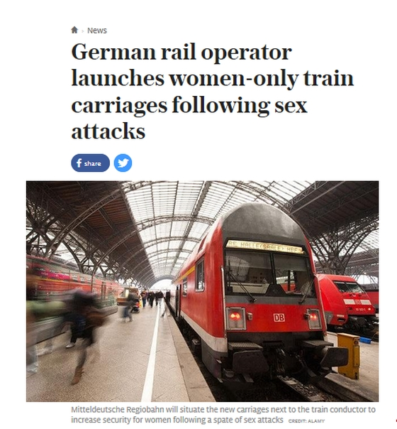 German-rail-operator-women-only-trains