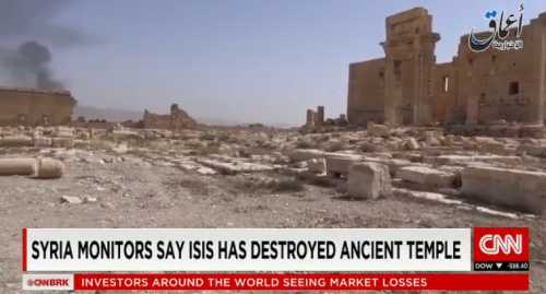 ISIS Destroys Ancient Structure in Syria