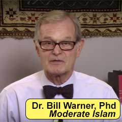 Dr. Bill Warner, There is NO Moderate Islam