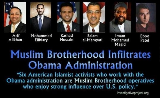 Muslim Brotherhood Operatives in the Obama Admin, click image for story.