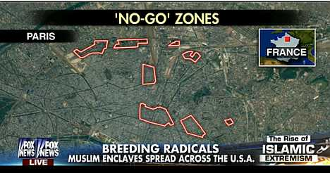 Muslim NOGO zones in the US